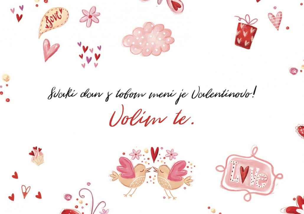 Svaki dan s tobom meni je Valentinovo