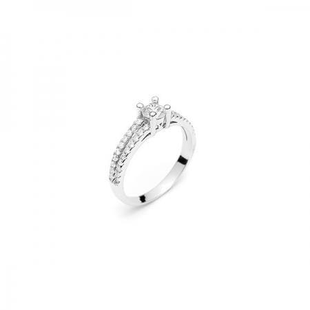 FIONA srebrni prsten Silver for you