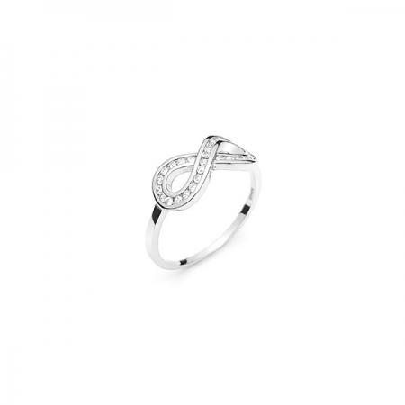 INFINITY srebrni prsten Silver for you