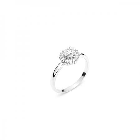 JENNIFER srebrni prsten Silver for you