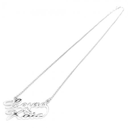 NMAE&NAME UNDER srebrna ogrlica