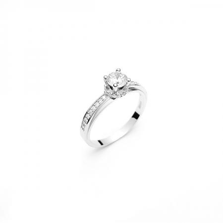 ROSIE srebrni prsten Silver for you