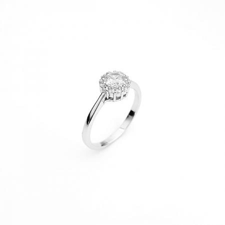 AMELIA srebrni prsten