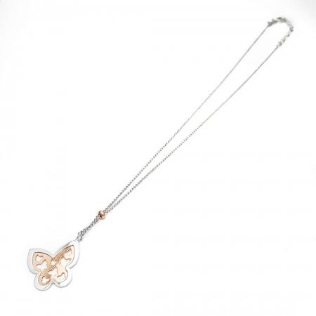 BUTTERFLY srebrna ogrlica