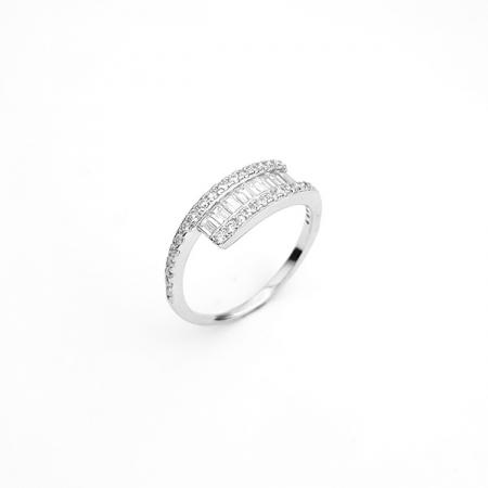 DIVINE srebrni prsten