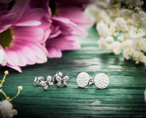 Dots bouquet Silver for you