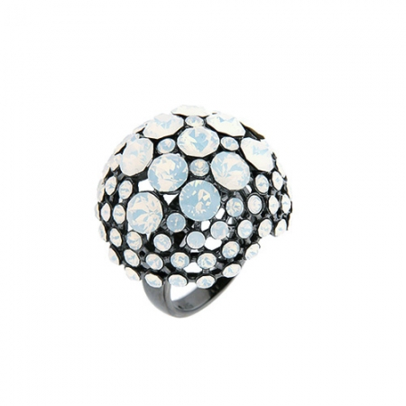 BLACK-MUSHROOM-srebrni-prsten_Silver-for-you