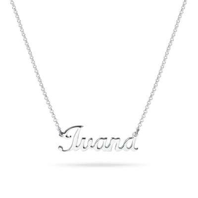 NAME ME ogrlica s imenom Silver for you