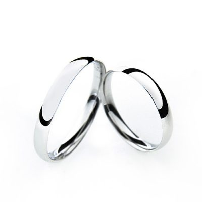 Groom & bride Silver for you vjenčano prstenje