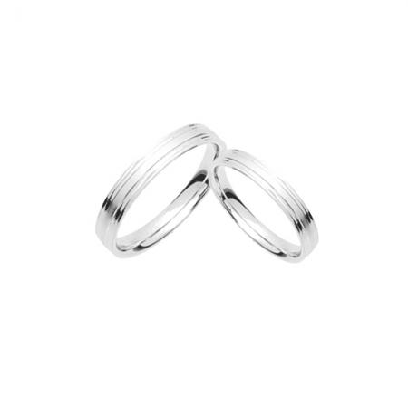 Perfect couple Silver for you vjenčano prstenje