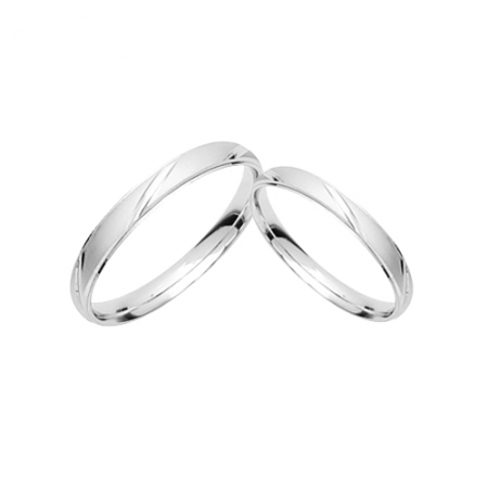I DO Silver for you vjenčano prstenje