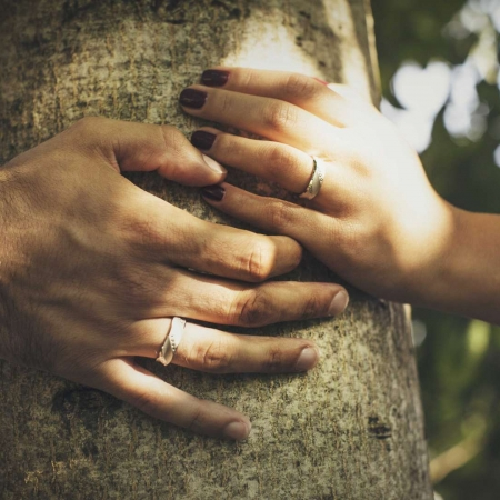 Happily ever after wedding ring
