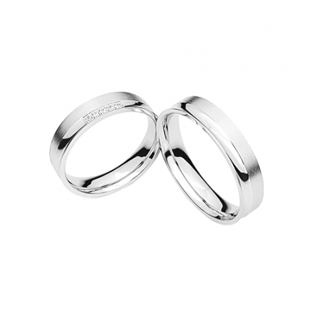 LOVE and MARRIAGE vjenčano prstnje Silver for you