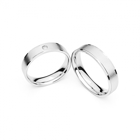 ME and YOU vjenčano prstenje Silver for you