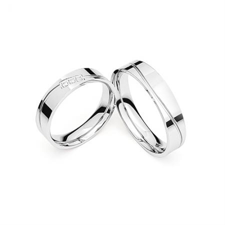 PERFECT MATCH vjenčano prstenje Silver for you
