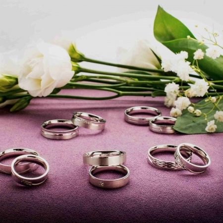 Vjenčano prstenje Silver for you