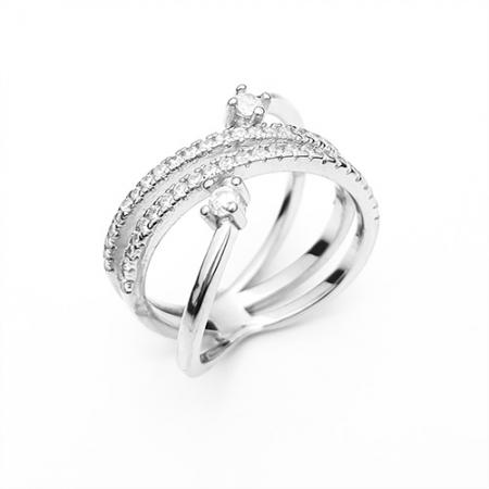 STELLAR srebrni prsten