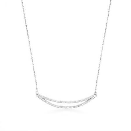 WATERMELON srebrna ogrlica