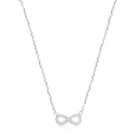 INFINITY srebrna ogrlica