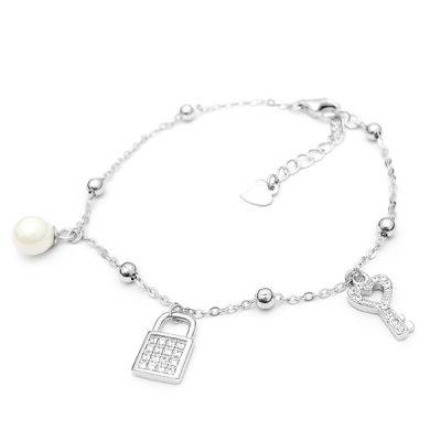 LOCK MY HEART srebrna narukvica Silver for you