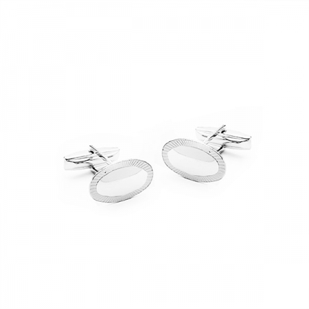 MASCULINE srebrna dugmad za manžete Silver for you