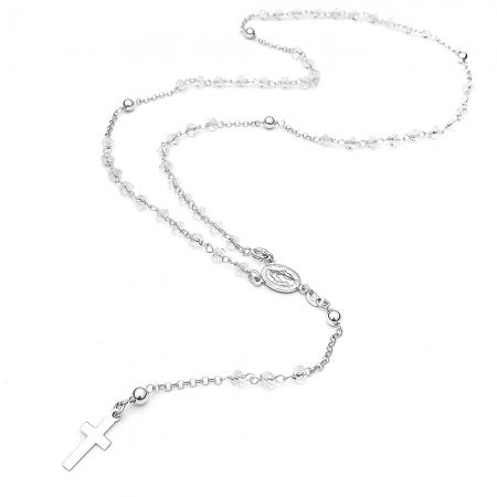 OSARI CLEAR srebrna ogrlica Silver for you