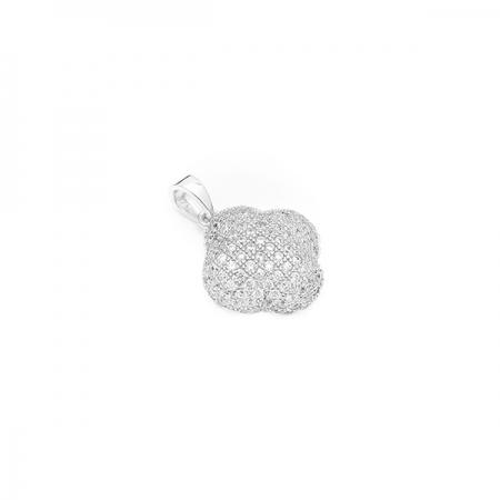 ROUNDED srebrni privjesak Silver for you