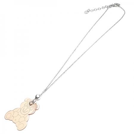 Silver Teddy Bear srebrna ogrlica