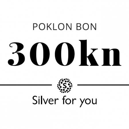 Poklon bon 300 kn Silver for you