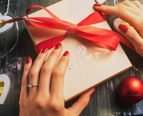 FOREVER srebrni prsten by Silver for you