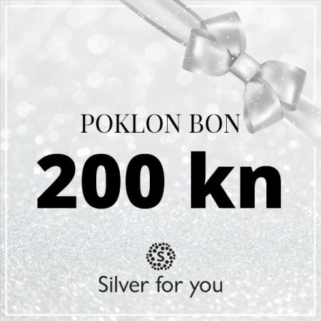 Poklon bon 200 kn Silver for you