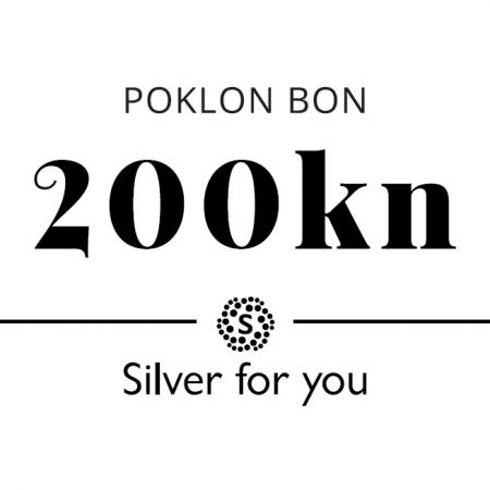 Poklon bon 200 kuna Silver for you