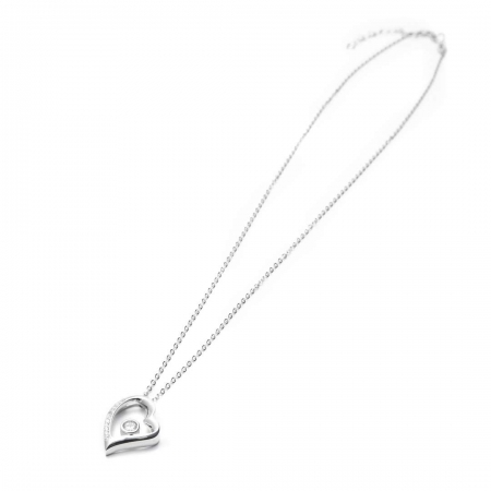ABSTRACT HEART srebrna ogrlica Silver for you