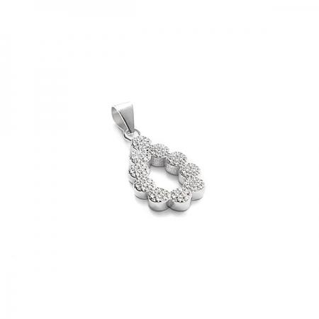 BEAUTIFUL TEAR srebrni privjesak Silver for you