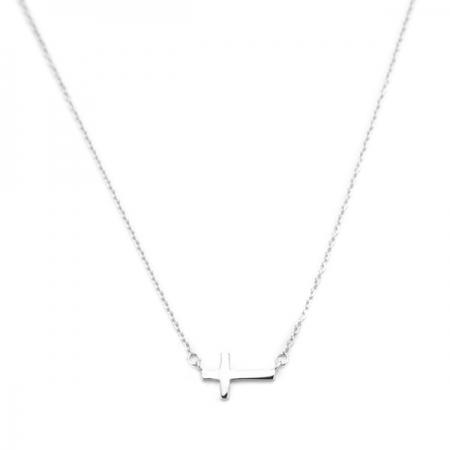 BELIEVE srebrna ogrlica