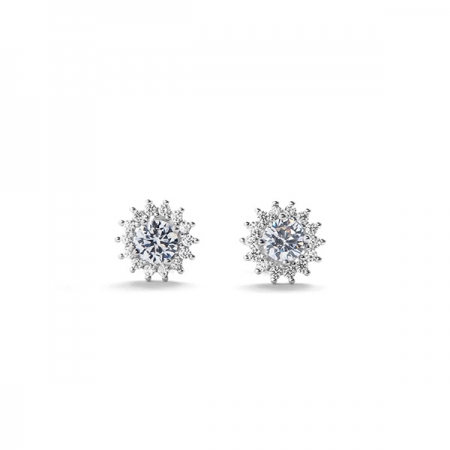 BLISS srebrne naušnice Silver for you