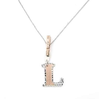 LETTER srebrna ogrlica sa slovom