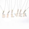 LETTER srebrne ogrlice sa slovima