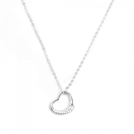 YOUR HEART srebrna ogrlica