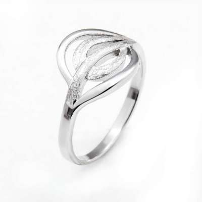Leaves srebrni prsten Silver for you