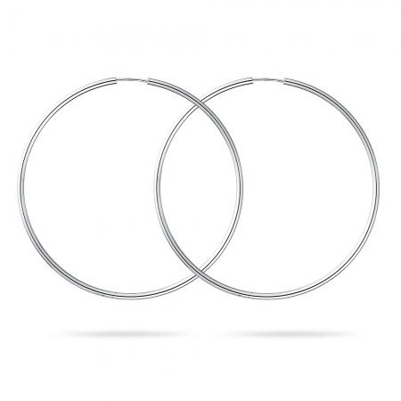 CIRCLET srebrne naušnice