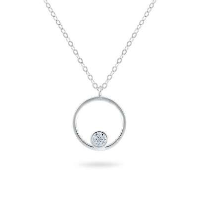 POINT srebrna ogrlica