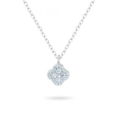ROUNDED srebrna ogrlica