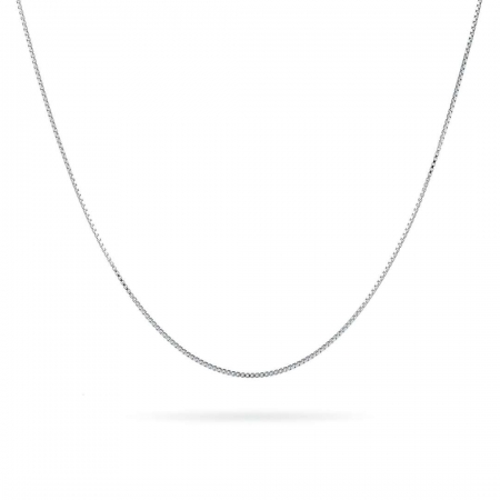 SIMPLE SILVER CHAIN NECKLACE srebrni lančić
