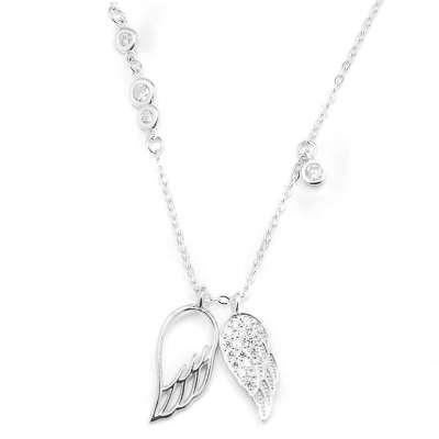 SILVER WINGS srebrna ogrlica