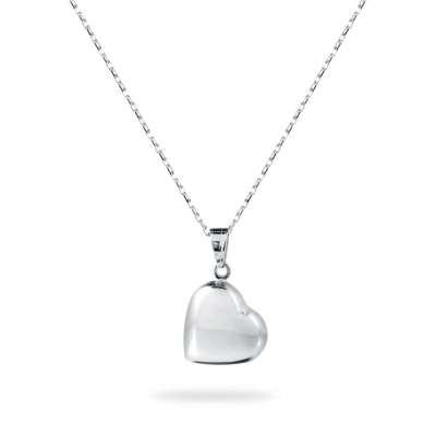 BIG HEART srebrna ogrlica