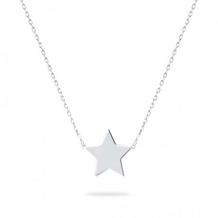 LUCKY STAR srebrna ogrlica