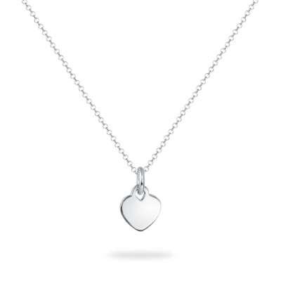 Happy Heart srebrna ogrlica