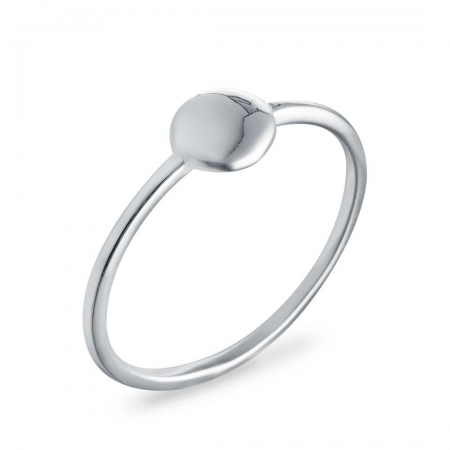 Simple srebrni prsten