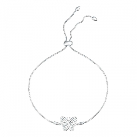 Butterfly Touch srebrna narukvica Silver for you